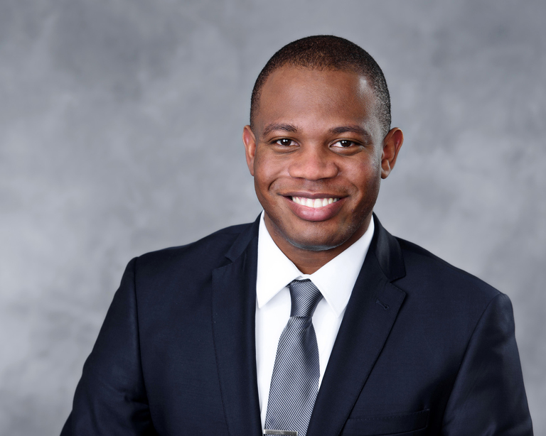business headshot African American male executive
