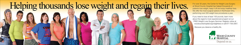 Weight loss patients with doc for billboard 2