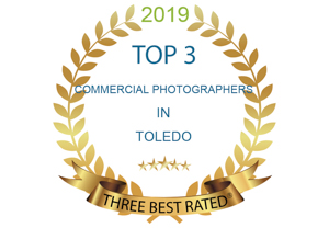 one of top three commercial photographers in Toledo
